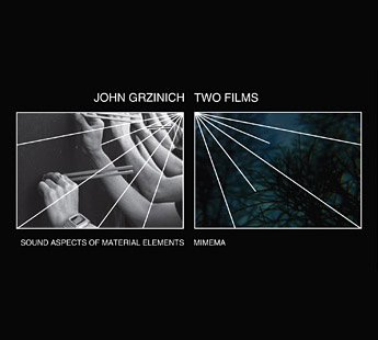 JOHN GRZINICH / Two Films (DVD) Cover