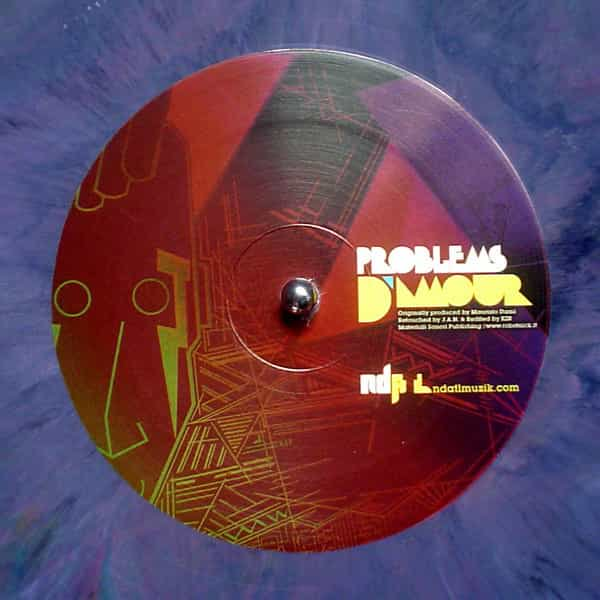 ALEXANDER ROBOTNIK vs J.A.N. / Problems D'amour (Music Institute 20th... Special Edition) (12 inch)