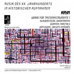 ROLAND KAYN / Werke Für Tasteninstrumente 1 (2CD)