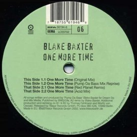 BLAKE BAXTER / One More Time (Archiv #06) (12 inch)