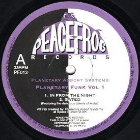 PLANETARY ASSAULT SYSTEMS / Planetary Funk Vol 1 (12 inch)