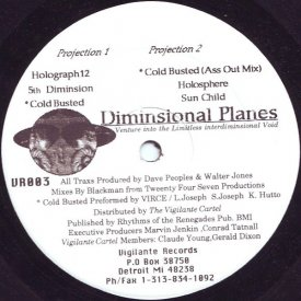 DAVE PEOPLES & WALT J / Diminsional Planes (12 inch)