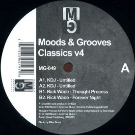 KDJ   RICK WADE / Moods & Grooves Classics v4 (12 inch)