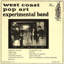 THE WEST COAST POP ART EXPERIMENTAL BAND / Volume 1 (LP)