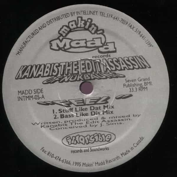 KANABIS THE EDIT ASSASSIN / Feel (12 inch)