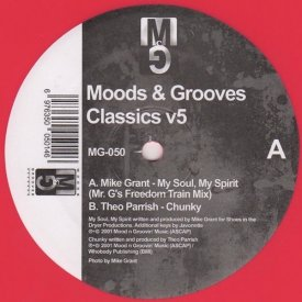 MIKE GRANT / THEO PARRISH / Moods & Grooves Classics v5 (12 inch)