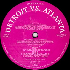 CHRIS BRANN / Detroit vs. Atlanta (12 inch)