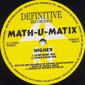 MATH-U-MATIX / Higher (12 inch)