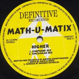 MATH-U-MATIX / Higher (12 inch)