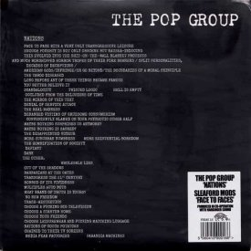 THE POP GROUP / Nations - SLEAFORD MODS / Face To Faces (split 7