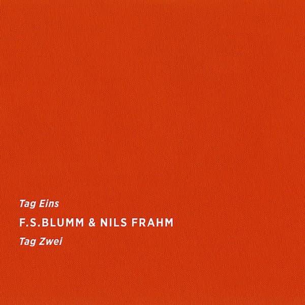 F.S. BLUMM & NILS FRAHM / Tag Eins Tag Zwei (CD/LP) - sleeve image