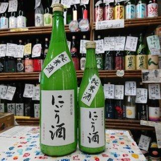 奥能登の白菊 純米活性にごり酒(1.8L)
