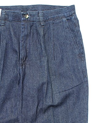 "Timbercreek by Wrangler ""2tuck Dress Denim Slacks_Dark Stone(One Wash)"""