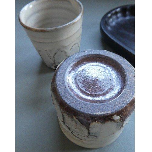 粉引きカップ