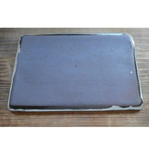 粉引き長角皿