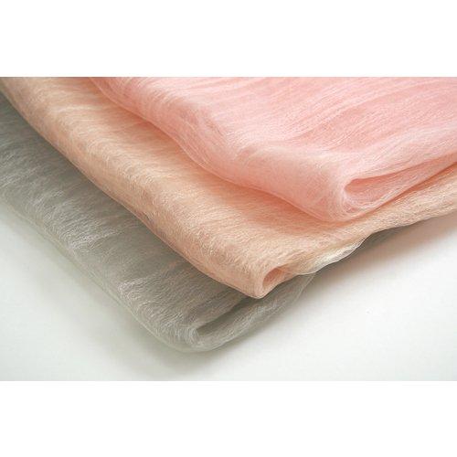 桜染め 二重羽衣ショール