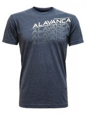 <img class='new_mark_img1' src='//img.shop-pro.jp/img/new/icons7.gif' style='border:none;display:inline;margin:0px;padding:0px;width:auto;' />【ALAVANCA】Tシャツ Repeat(ネイビー)