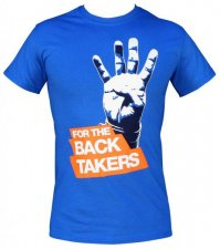 【Kaizen Athletic】Tシャツ For The Back Takers(青)