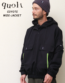 quolt] COYOTE WIDE-JACKET