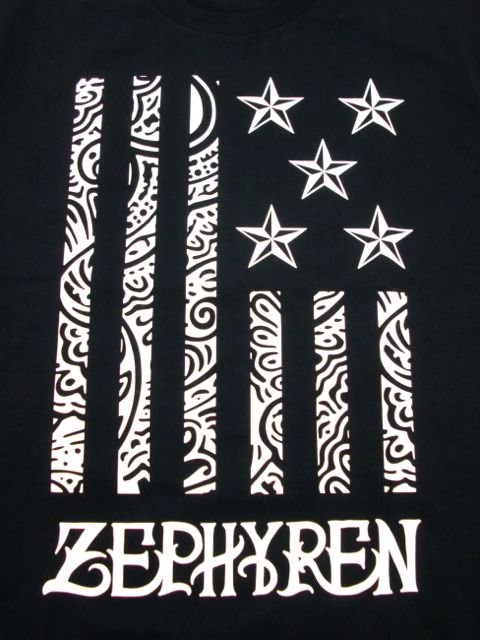 [ZEPHYREN] S/S TEE -REBEL FLAG-1