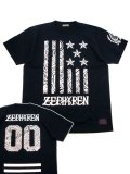 [ZEPHYREN] S/S TEE -REBEL FLAG-