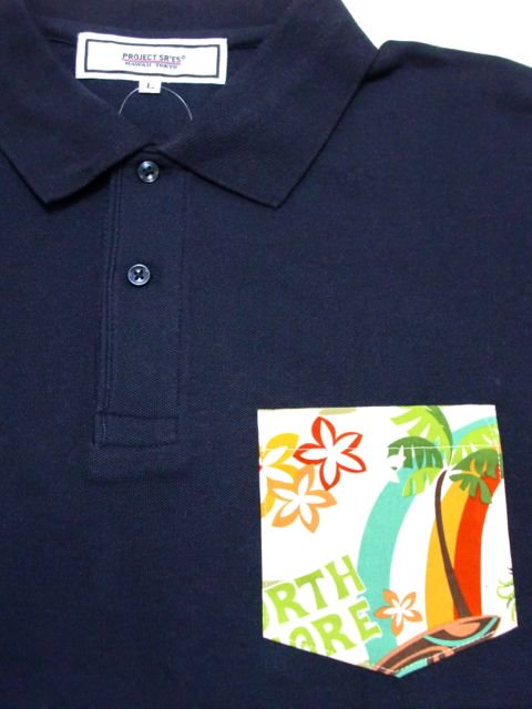 [PROJECT SR'ES] ANOTHER FABRIC POCKET POLO1