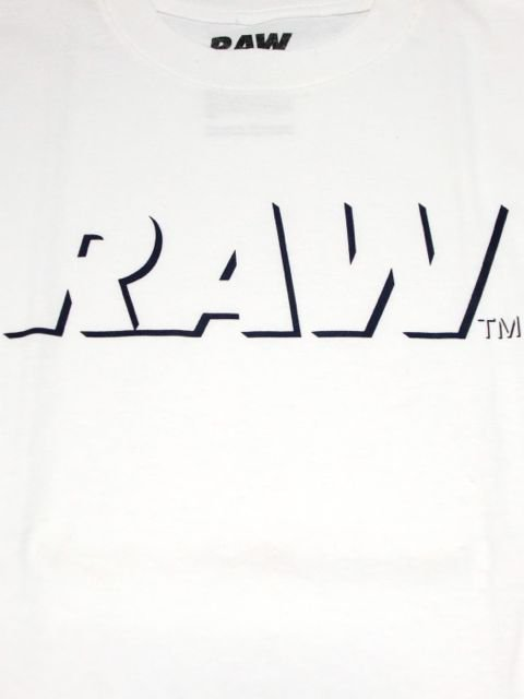 [RAW] RAW LOGO TEE(NAVY SHADOW)1