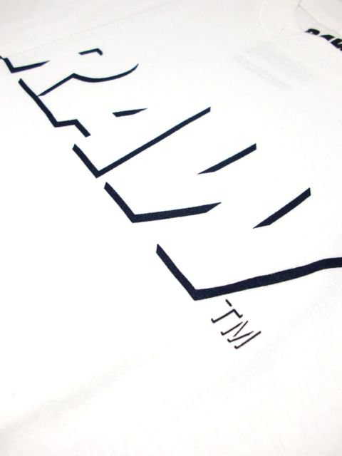 [RAW] RAW LOGO TEE(NAVY SHADOW)2