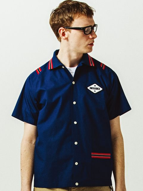 [CLUCT] S/S BOWLING SHIRT