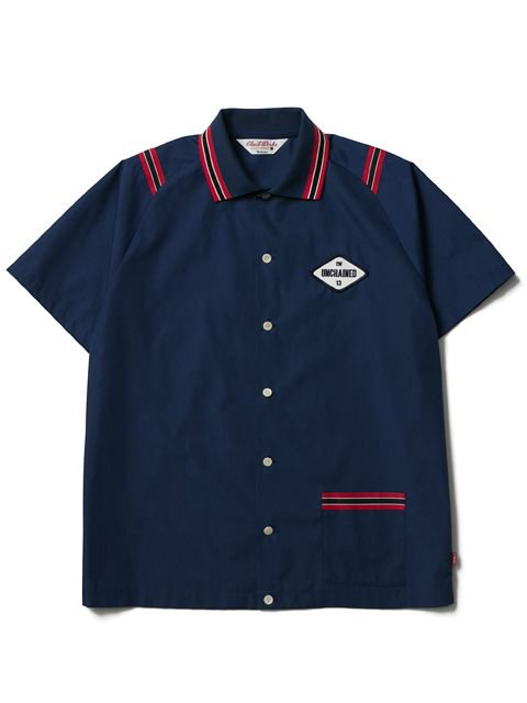 [CLUCT] S/S BOWLING SHIRT1
