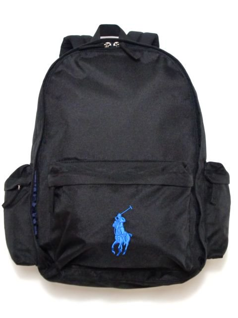 [POLO Ralph Lauren] CLASSIC PONY BACKPACK LARGE(BK)