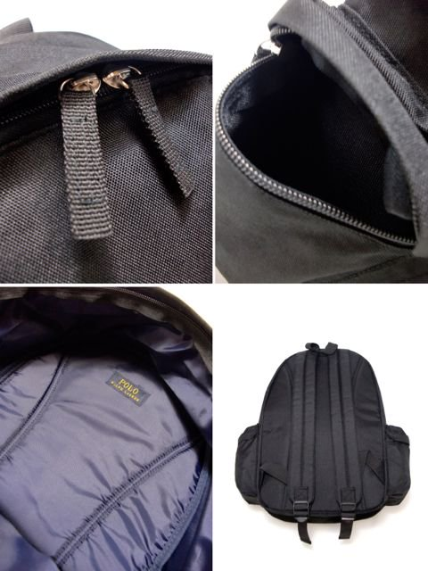 [POLO Ralph Lauren] CLASSIC PONY BACKPACK LARGE(BK)3