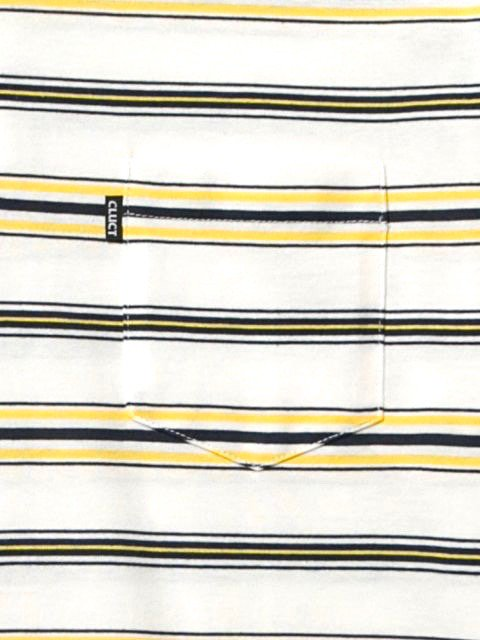 [CLUCT] S/S ORIGINAL BORDER STRIPE POLO2