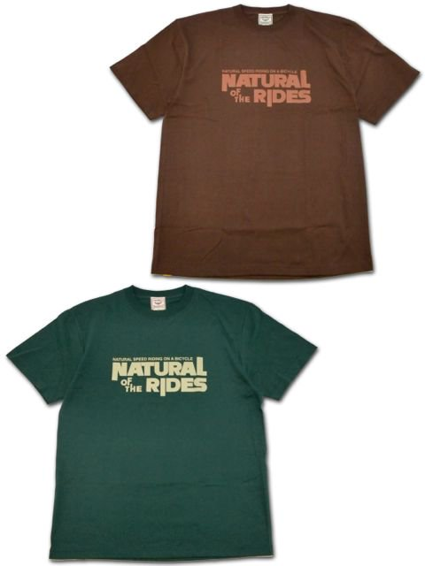 "[NATURAL BICYCLE] Cotton T ""NATURAL OF THE RIDES"""