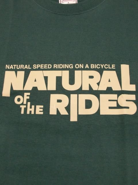 "[NATURAL BICYCLE] Cotton T ""NATURAL OF THE RIDES""1"
