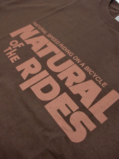 "[NATURAL BICYCLE] Cotton T ""NATURAL OF THE RIDES""2"
