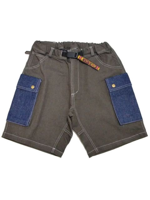 [NATURAL BICYCLE] Mountain Mania×phatee wear×Naturalbicycle Cargo Shorts