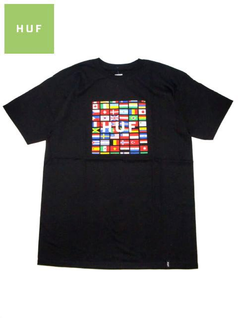 [HUF] FLAG BOX LOGO TEE