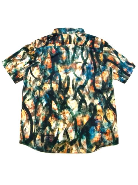[ZEPHYREN] TIE DYE TRIBAL SHIRT -Resolve-3