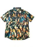 [ZEPHYREN] TIE DYE TRIBAL SHIRT -Resolve-