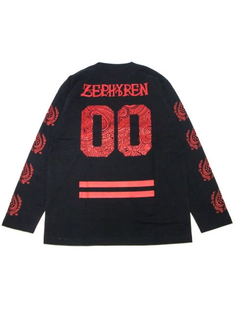 [ZEPHYREN] L/S TEE -REBEL FLAG-2