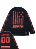 [ZEPHYREN] L/S TEE -REBEL FLAG-