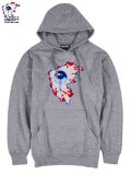 [MISHKA] MISHKA × FAMOUS ALL SEEING F PULLOVER HOODIE(GR)