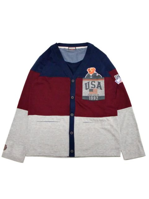 [MANIC DEE] JUST DIG IT. 1992 USA POCKET CARDIGAN