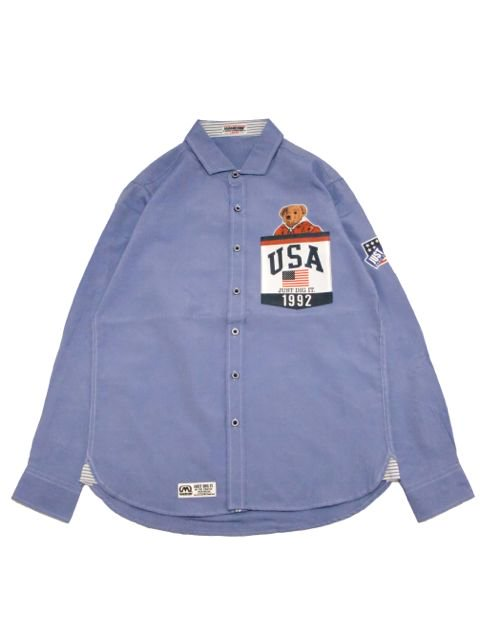 [MANIC DEE] JUST DIG IT. 1992 USA POCKET B/D OXFORD SHIRTS