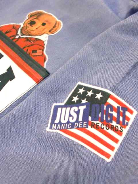 [MANIC DEE] JUST DIG IT. 1992 USA POCKET B/D OXFORD SHIRTS2