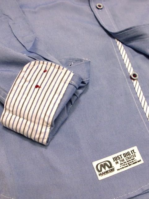 [MANIC DEE] JUST DIG IT. 1992 USA POCKET B/D OXFORD SHIRTS3