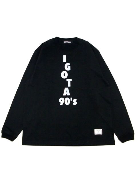 [CHICCHORD] 90's L/S TEE