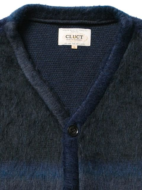 [CLUCT] JACQUARD WOOL CARDIGAN1