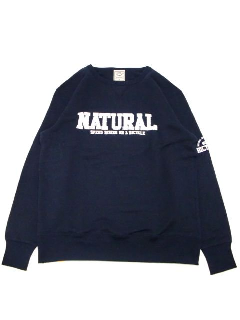[NATURAL BICYCLE] NATURAL SIGN Crew Sweat(NV)
